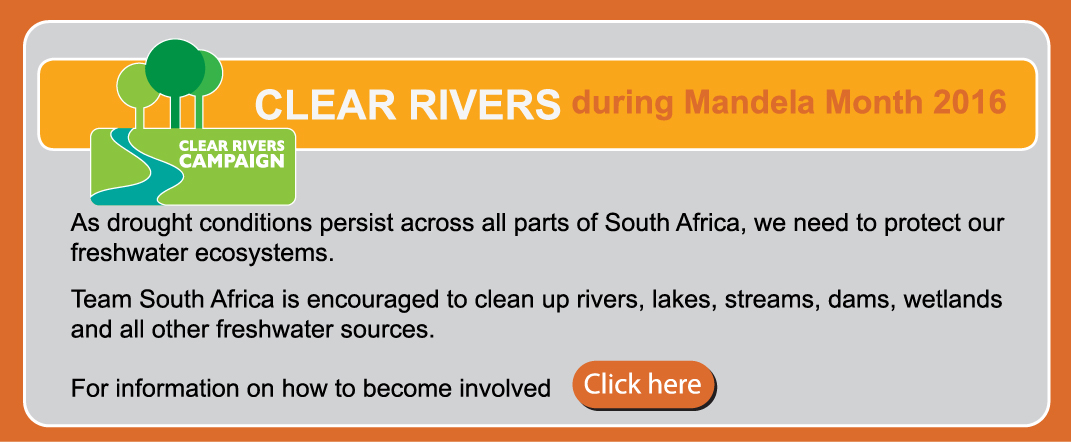 Clean Rivers Landing Page
